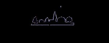 Black Cramahe Library Logo